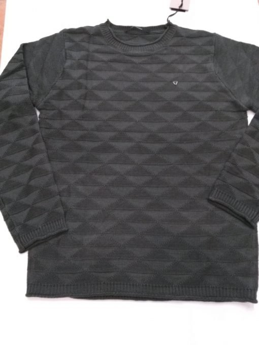 MAGLIONE FIFTY FOUR LAMES - VERDE