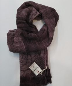 PASHMINA INMYHOOD QUADRO PH01 - BORDEAUX