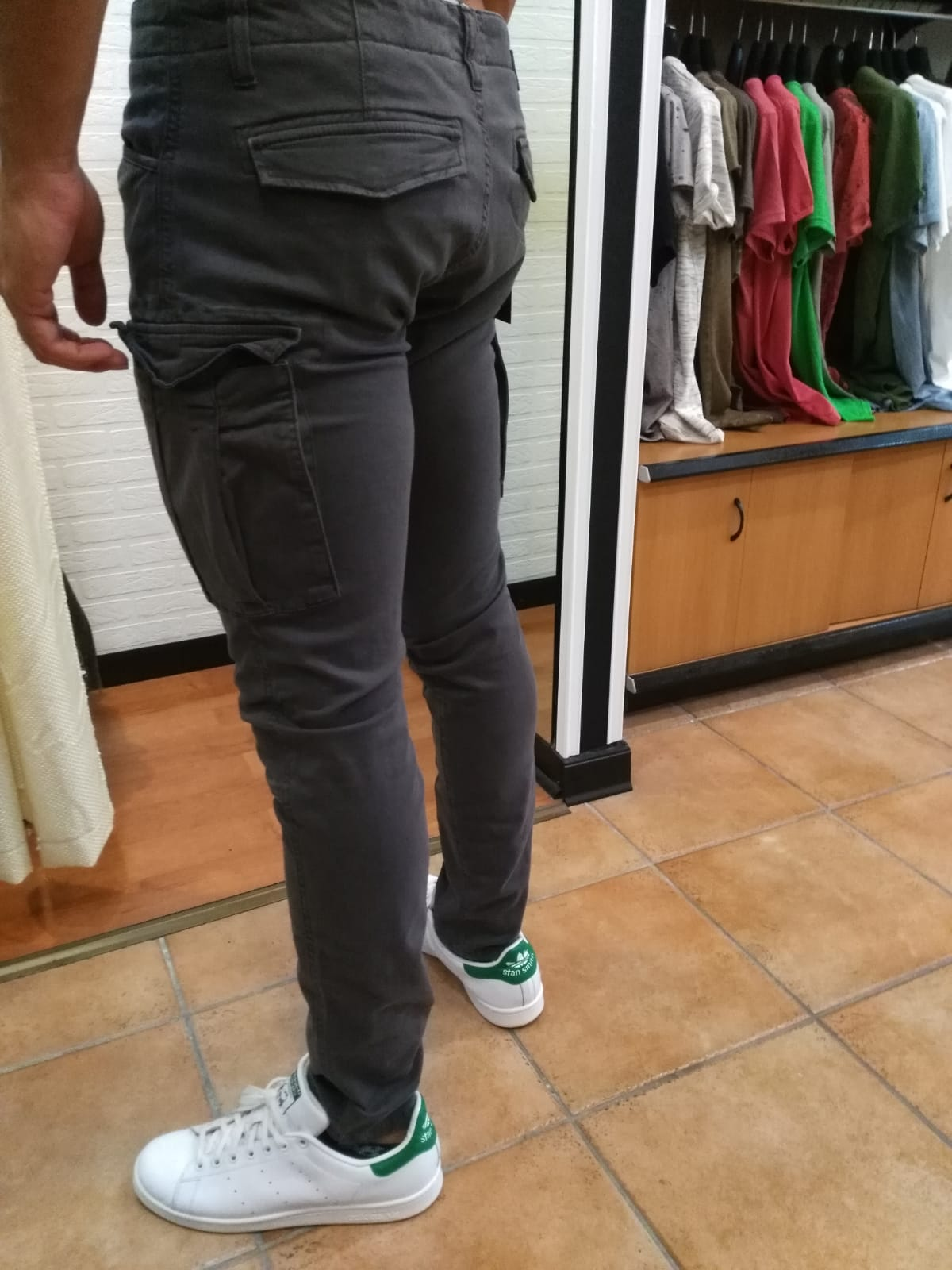 PANTALONE FIFTY FOUR ABLER TASCONI - GRIGIO