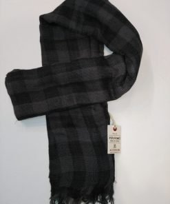 PASHMINA INMYHOOD QUADRONE PH03 - NERO