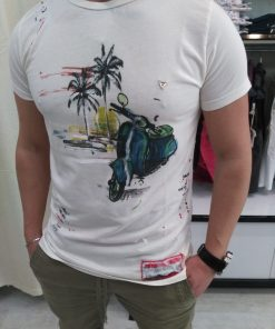 T-SHIRT FIFTY FOUR JUDOS - BIANCO
