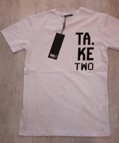 T-SHIRT TAKE TWO UKE614 - BIANCO