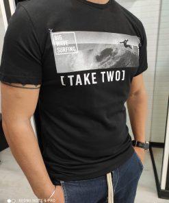 T-SHIRT TAKE TWO UKE2201 - NERO